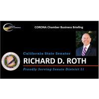 Corona Chamber Business Briefing - 07.08.20 - SENATOR RICHARD ROTH