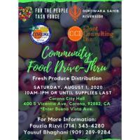 Community Food Drive-Thru