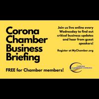 Corona Chamber Business Briefing: SB 213