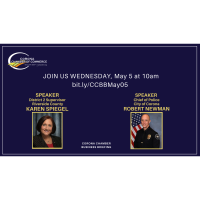 Corona Chamber Business Briefing: Supervisor Spiegel and Police Chief Newman
