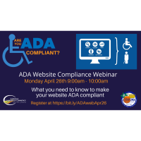 ADA website compliance webinar