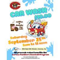 Corona High School Baseball Boosters Car Wash Fundraiser