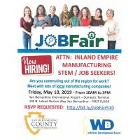 JOB FAIR - Inland Empire Manufacturing STEM/ Job Seekers