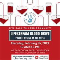 ABC Hopes hosted Blood Drive