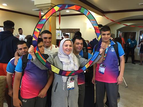 Special Olympics Iran during Host Town Corona