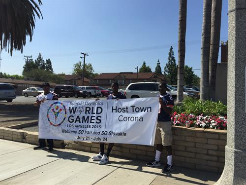 Special Olympics World Games Host Town Corona