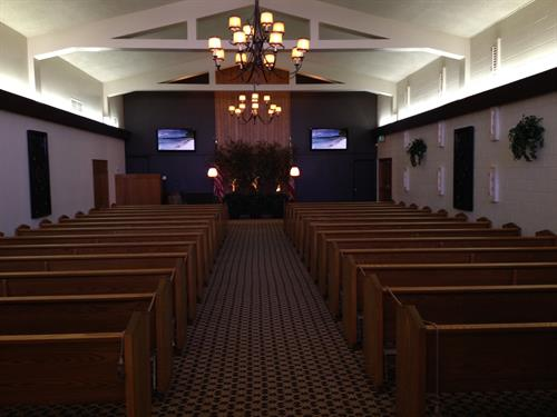 Chapel - Holds 250 Guests