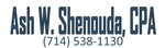 Ash W. Shenouda, CPA