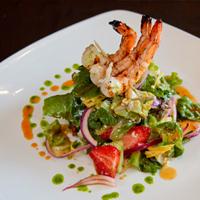 House Salad w/Grilled Shrimp