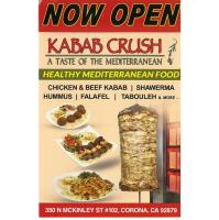 NOW OPEN - KABAB CRUSH