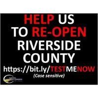 Help us to Reopen Riverside County
