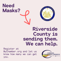 Funds for RivCo Businesses, Free Masks, Flushing Your Pipes, and More