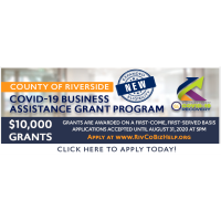 New Eligibility Expansion for RivCo Grant!