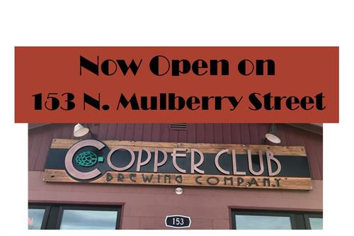 New location on N. Mulberry Street