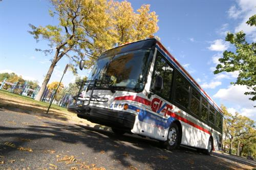 GVT provides bus service on 11 Routes