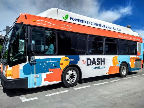 The DASH is a free downtown shuttle on the weekends.