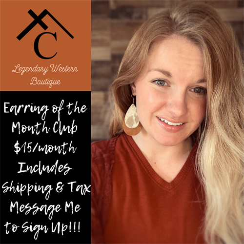 Earring of the Month Club