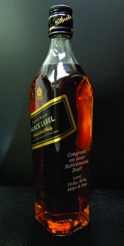 Whiskey Bottle Personalization