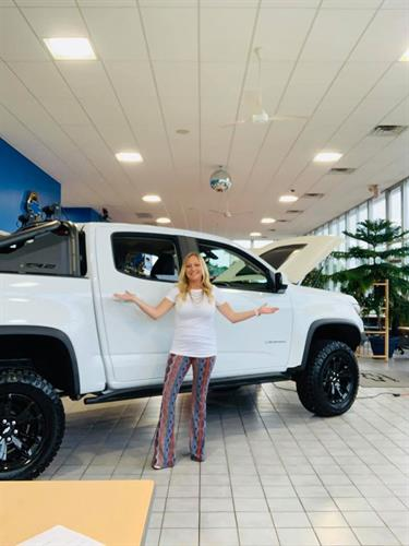 Come see Tara at Shakopee Chevrolet for an easy, hassle free, huge deal!!