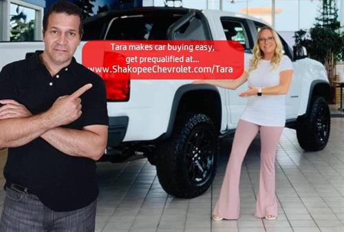 Tara Makes Car Buying Easy!