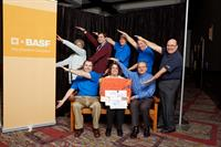 Employee Launch to celebrate the debut of the Master Builders Solutions brand launch