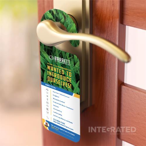 Graphic Design | Door Hangers