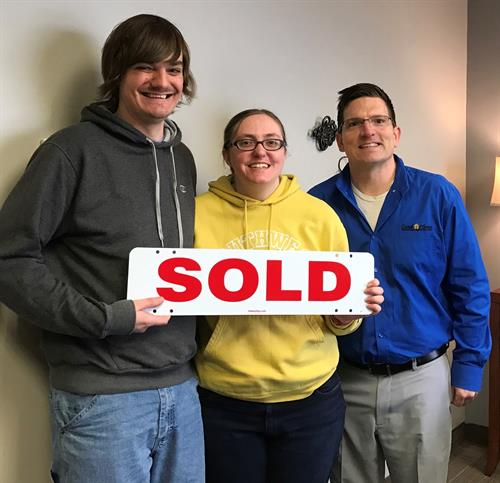 First-time homebuyer closing