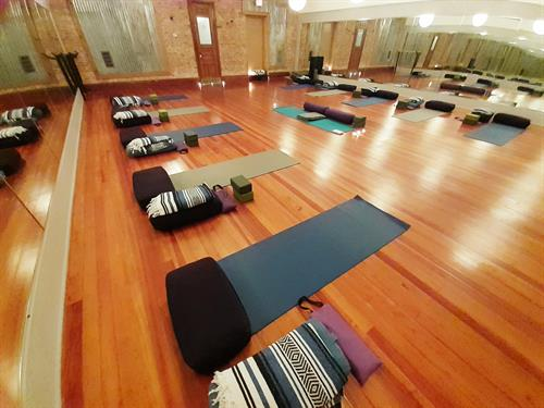 We offer a wide variety of classes from fitness to restorative yoga, 7 days a week.