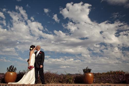 Weddings at The Casitas offer breathtaking views!