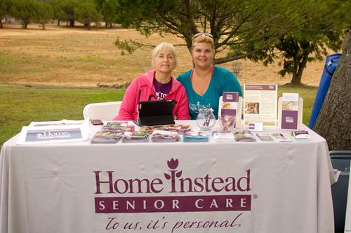 Carol and Tiffany at an Alzheimer's Walk