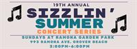 19th Annual Sizzlin' Summer Concert Series & Vendor Market in Grover Beach