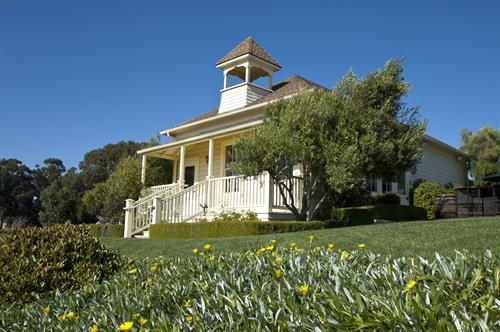 Independence Schoolhouse - home to our tasting room!