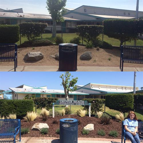 Grover Beach Elementary Work Day (Before & After)
