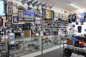 Professional Sports Memorabilia, Collectibles and Team Merchandise