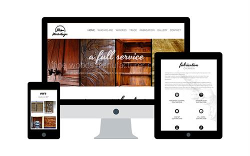 Wordpress site design, Meritage Partners