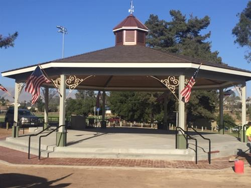 Rotary Bandstand at Nipomo Regional Park built by Rotary