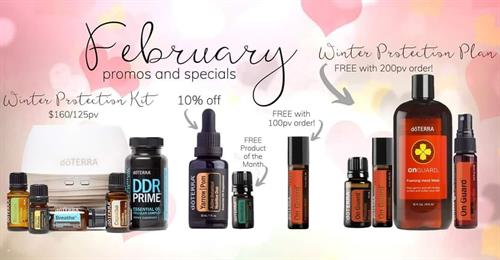 February 2020 Promotions and specials