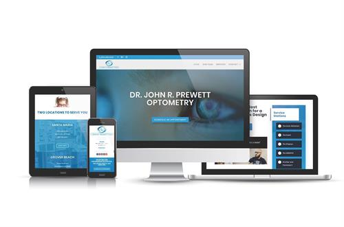 PrewettVisionCare.Com Website Design.