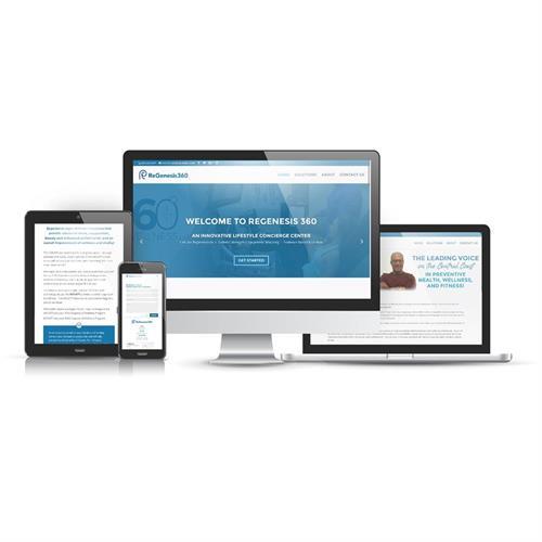 Regenesis360.com Website Design