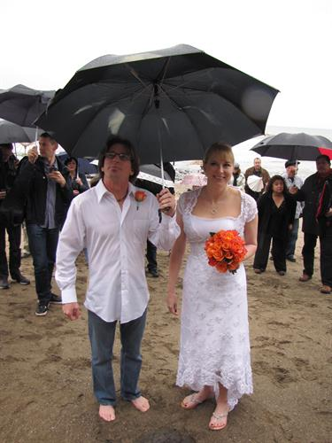 Rain or shine its always a great time to get married