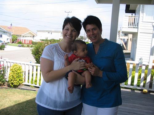 Family in Morro Bay