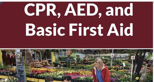 We offer ASHI CPR, AED, and Basic First Aid classes
