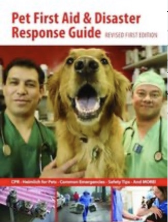We offer Pet First Aid and Disaster Response classes
