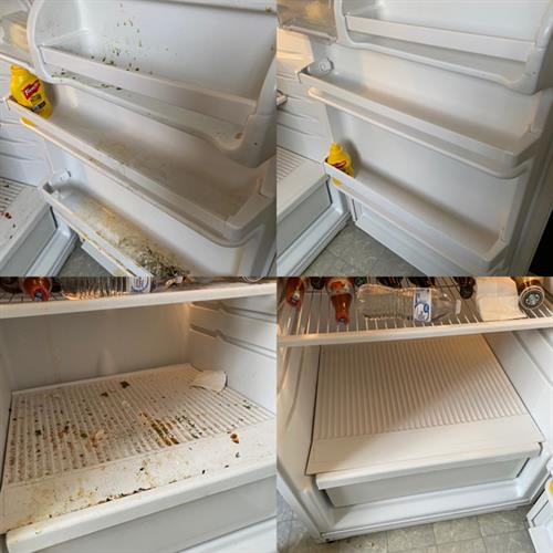 We can get the insides of your refrigerator with only the safest, most NON toxic products around! You don't want your food covered in chemicals now do you?