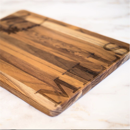 Custom Engraved Teak Cutting Board