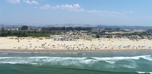 Vehicle free Oceano Beach September 2020