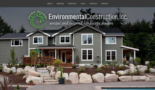 Landscape Construction Website
