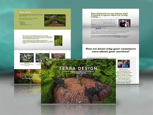 Landscape Design Website