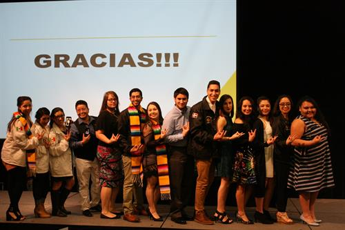 Annual Latino Student Recognition Dinner recognizes students' accomplishments and celebrates the successful conclusion of the academic year.