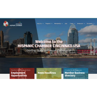 TheHispanicChamber Cincinnati USA is very proud to announce a completely new redesigned w